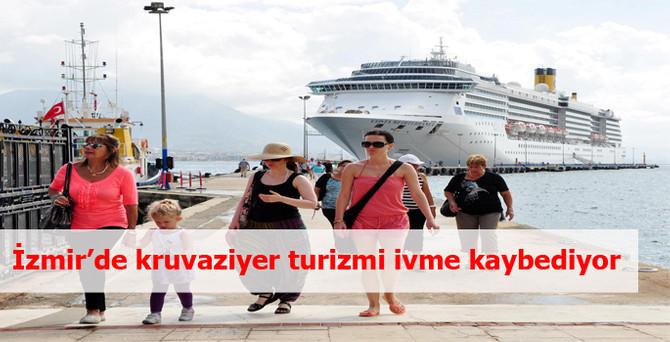İzmir'de kruvaziyer turizmi hızla ivme kaybediyor