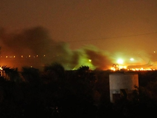 Pakistan'da havalimanına saldırı: 5 ölü