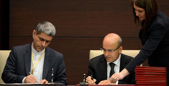 İran'la 10 anlaşma imzalandı