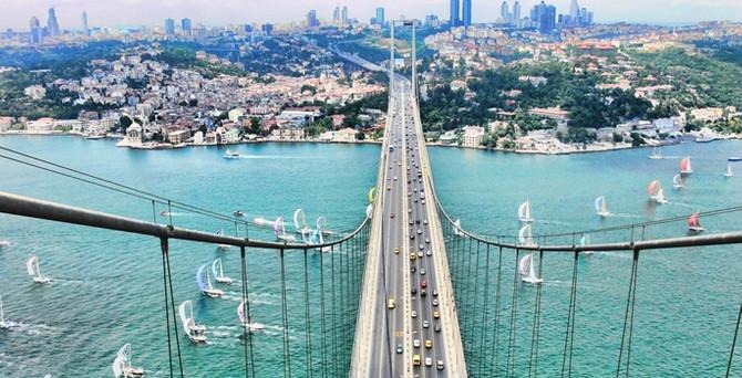 Boğaziçi Köprüsü'nde 40. yıl bakımı