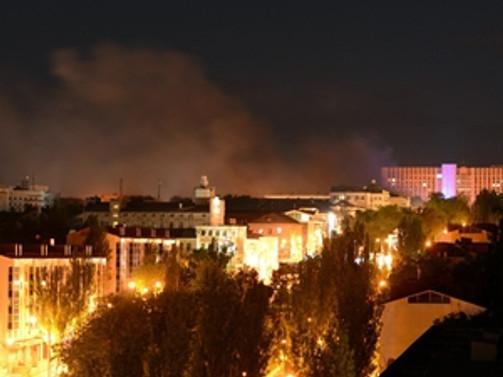 Ukrayna'nın Donetsk kentinde bombalı saldır