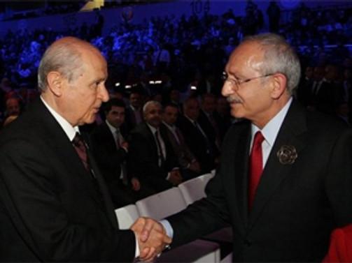 Kılıçdaroğlu ile Bahçeli, pazartesi görüşecek