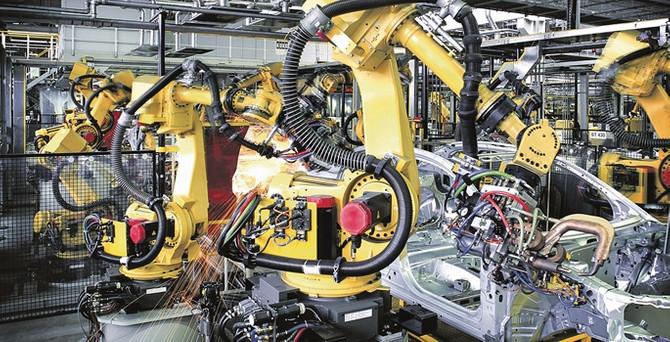 Endüstriyel üretimde robot istilası!
