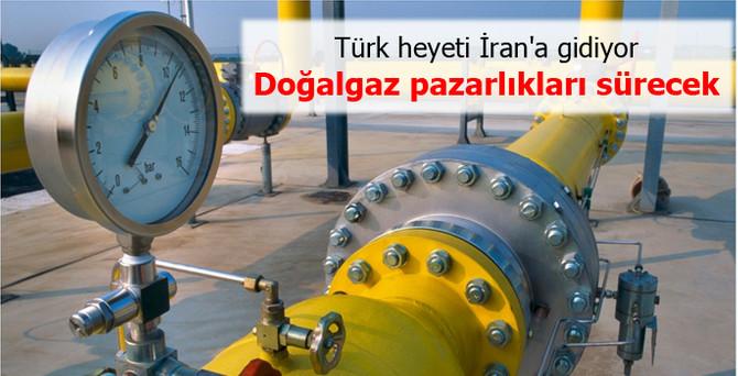 İran'la doğalgaz pazarlıkları sürecek