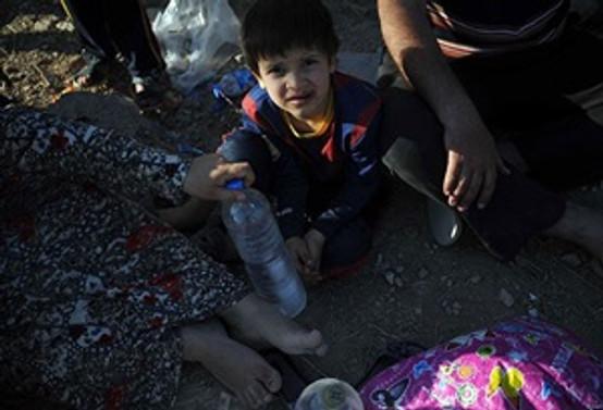 Türkmenler yiyecek ve su sıkıntısı çekiyor