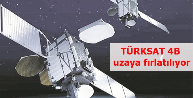 TÜRKSAT 4B uzaya fırlatılıyor