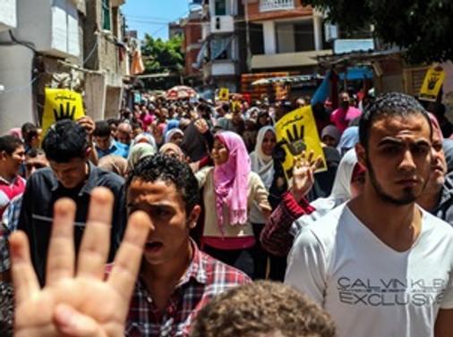 Sisi'nin cumhurbaşkanlığı protesto edildi