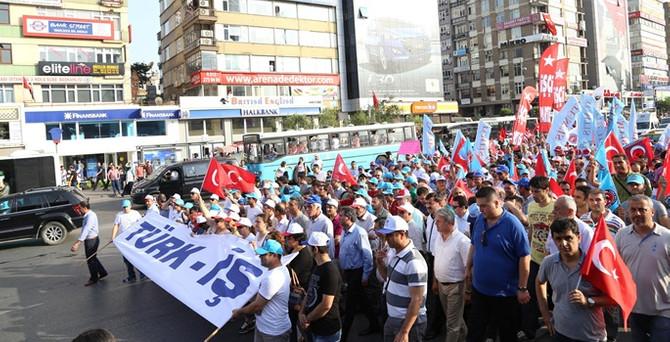 Türk-İş'ten özelleştirme karşıtı eylem
