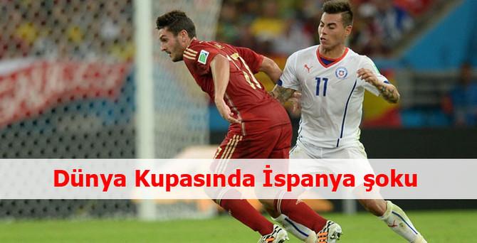 İspanya turnuvaya veda etti