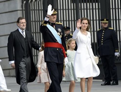 İspanya'da Kral 6. Felipe dönemi başladı