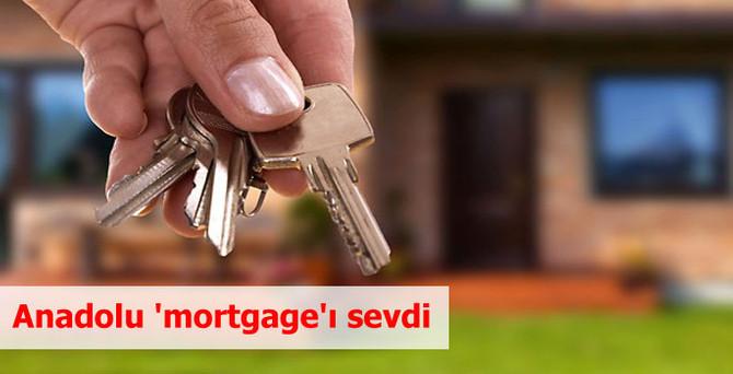 Anadolu 'mortgage'ı sevdi