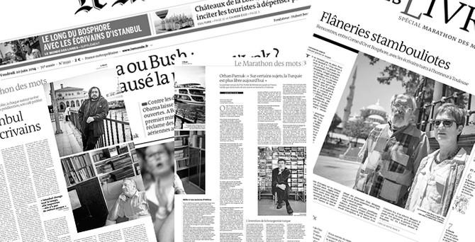 Le Monde, Türk yazarların İstanbul'unu anlattı