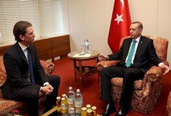 Erdoğan Avusturya Dışişleri Bakanı'nı kabul etti