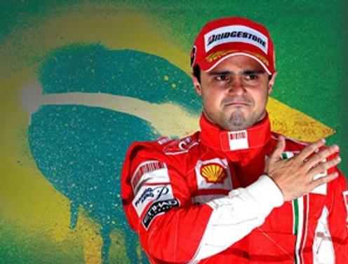 Grand  Prix'de  ilk cep Massa'nın