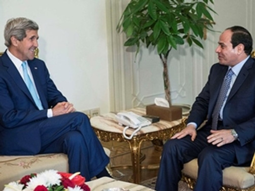 ABD Dışişleri Bakanı Kerry Mısır'da