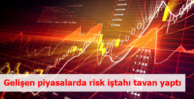 Gelişen piyasalarda risk iştahı tavan yaptı