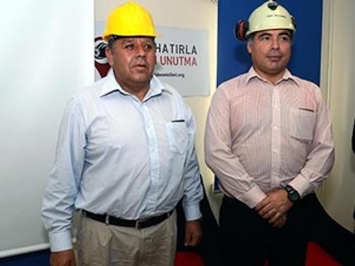 Şilili madenciler Soma'ya geliyor