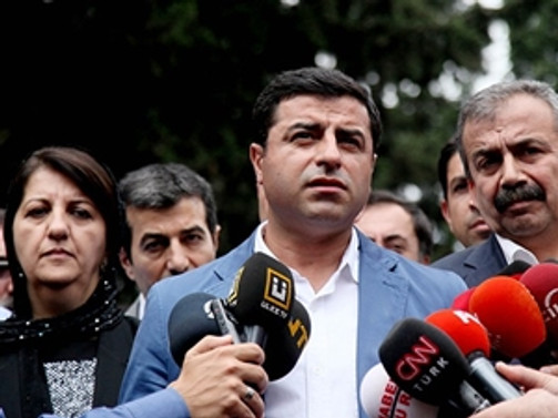HDP'nin adayı Demirtaş