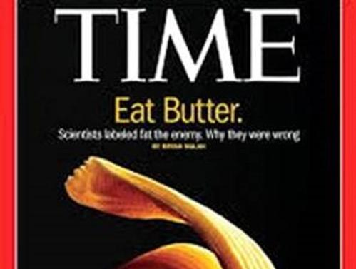 TIME kapak yaptı: Tereyağı yiyin