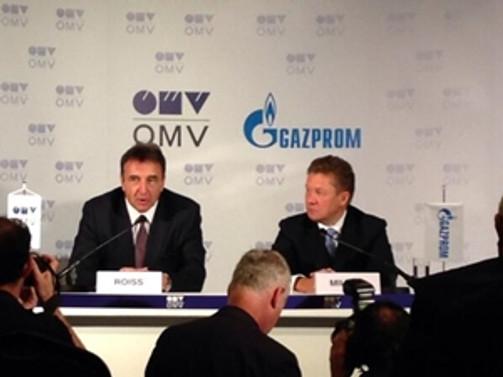 Avusturya ile Rusya arasında doğalgaz anlaşması