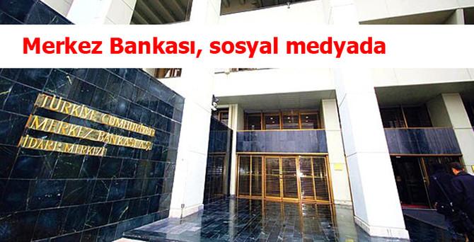 Merkez Bankası, sosyal medyada