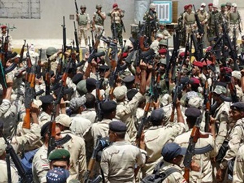 ABD'li danışmanlar Irak'ta