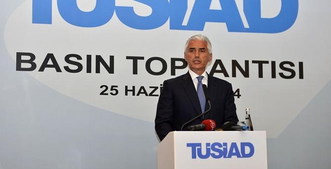 TÜSİAD Başkanı Dinçer YİK toplantısında konuştu