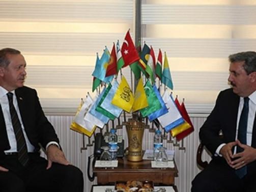 Erdoğan BBP'yi ziyaret etti