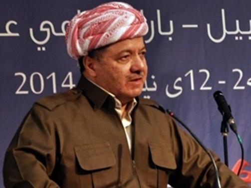 Barzani: Referandum süreci devam edecek
