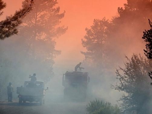 Antalya yanıyor!