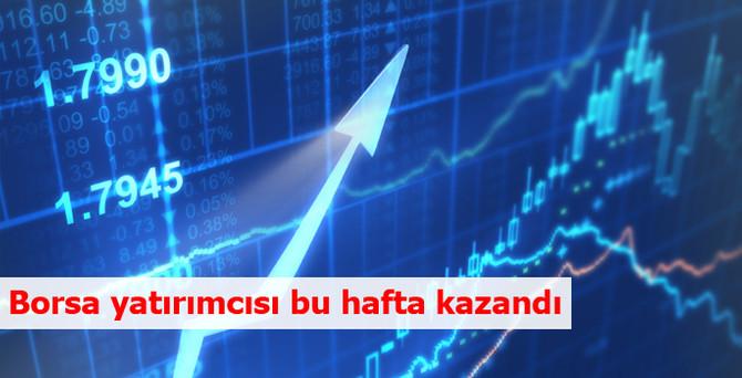 Borsa yatırımcısı bu hafta kazandı
