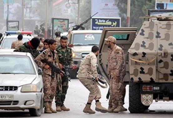 Libya havalimanına 10 füze atıldı!