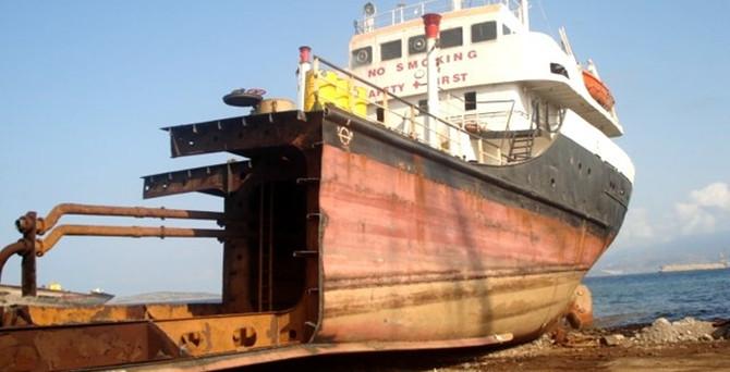 Hurda gemilerden 38 milyon lira katkı