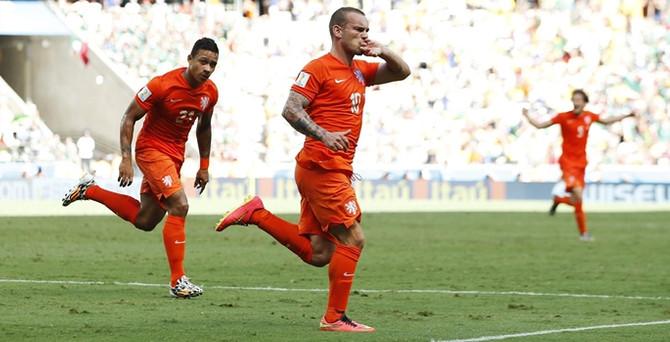 Robben böyle istedi