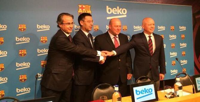 Beko, Barcelona'ya sponsor oldu