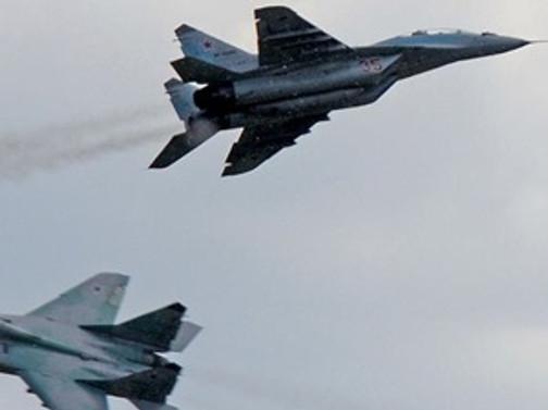 Rus jetleri Irak'ta