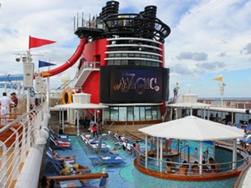 """""""Disney Magic"""" gemisi Kuşadası'nda"""