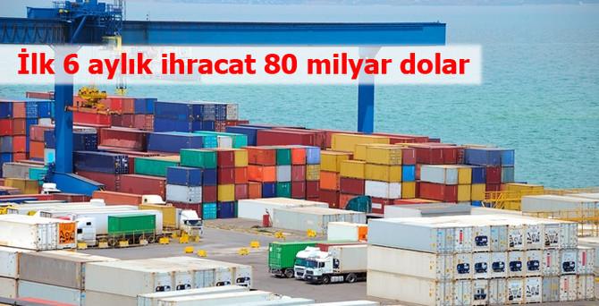 İhracat, haziranda 12.5 milyar dolar