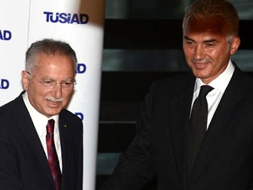 İhsanoğlu'dan TÜSİAD'a ziyaret