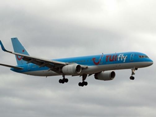 TUIfly Nordic, Gazipaşa'ya ilk seferini yaptı