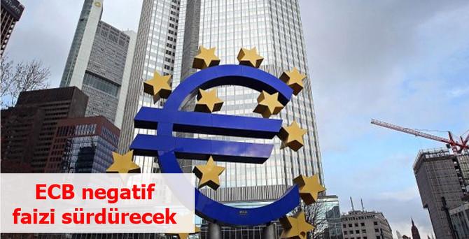 ECB faiz değiştirmedi