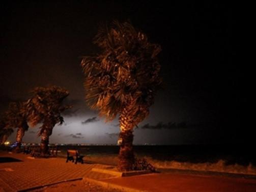 Ege bölgesinde fırtına uyarısı