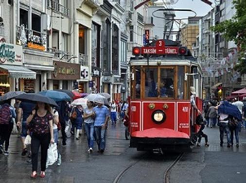 İstanbul'da 'kararsızlık' yağışları
