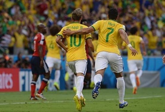 Brezilya yarı finalde!