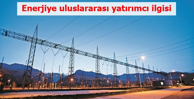 Enerjiye uluslararası yatırımcı ilgisi