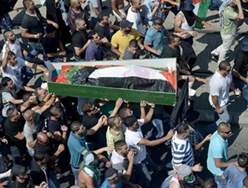 Kaçırılan Filistinli genç yakılarak öldürülmüş