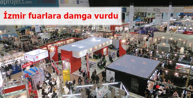 İzmir fuarlara damga vurdu