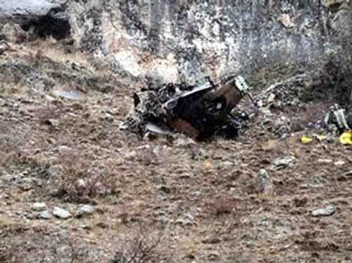 Askeri helikopter düştü: 16 ölü