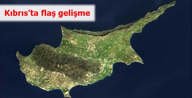 Kıbrıs'ta flaş gelişme