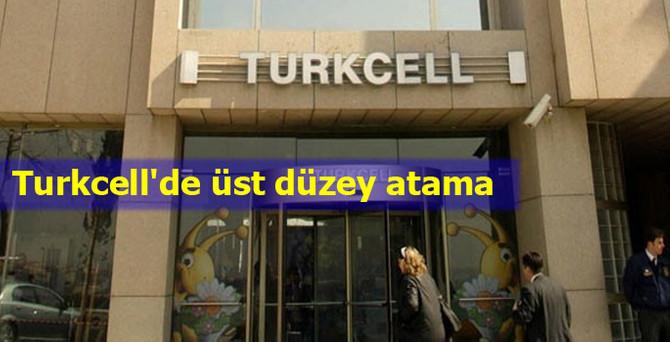 Turkcell'de 4 üst düzey atama
